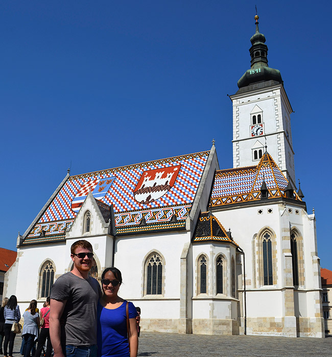 St. Mark Church in Zagreb