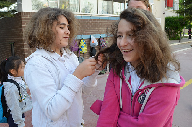 Teasing Hair