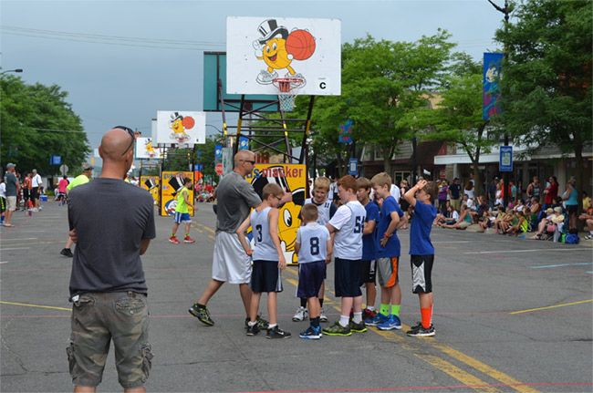 Ben in the Gus Macker