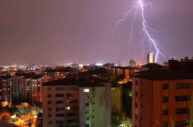 Ankara lightning