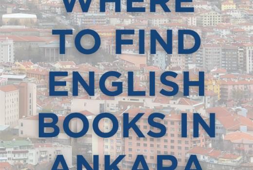 English books in Ankara