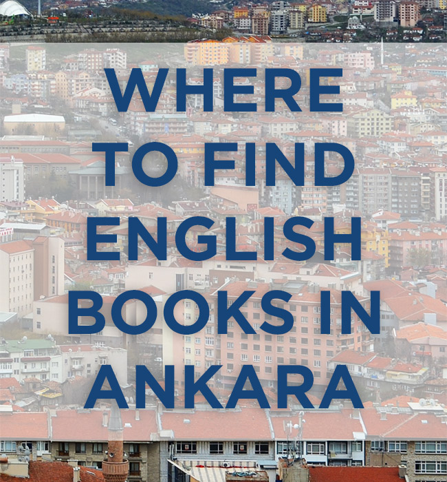 English books in Ankara