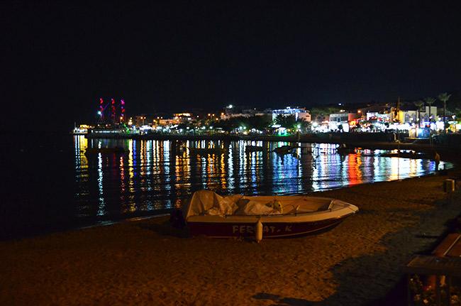 Didim at night