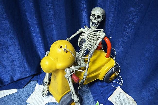 Frankie skeleton