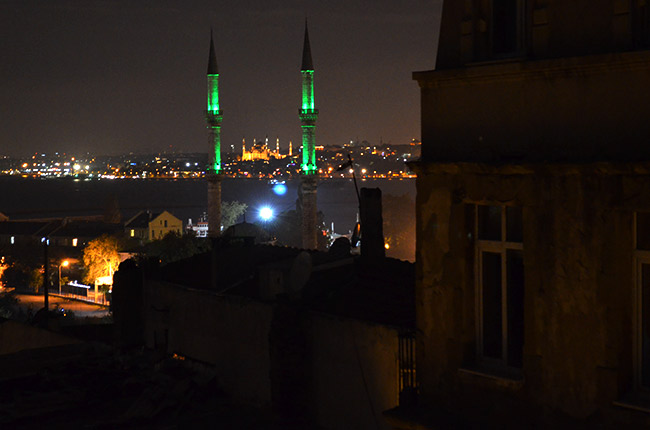 Kadikoy at night
