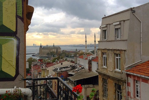 Kadikoy view of mosques