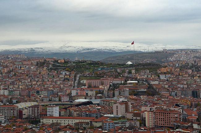 Ankara snowline