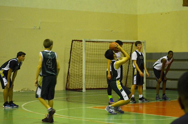 Basketball freethrow