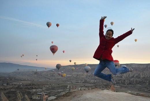 Cappadocia sunrise jump