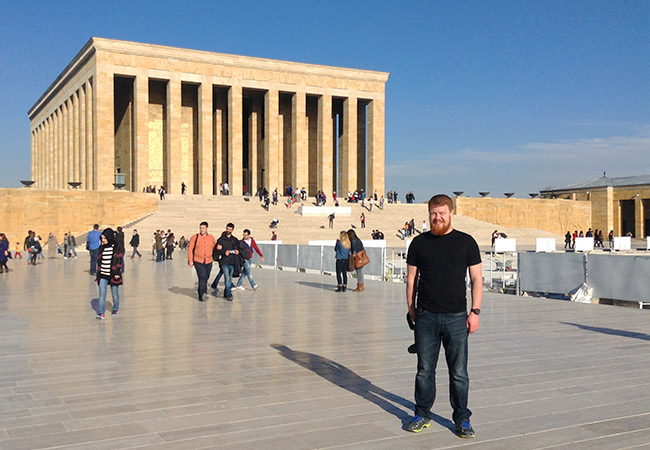 David at Anitkabir