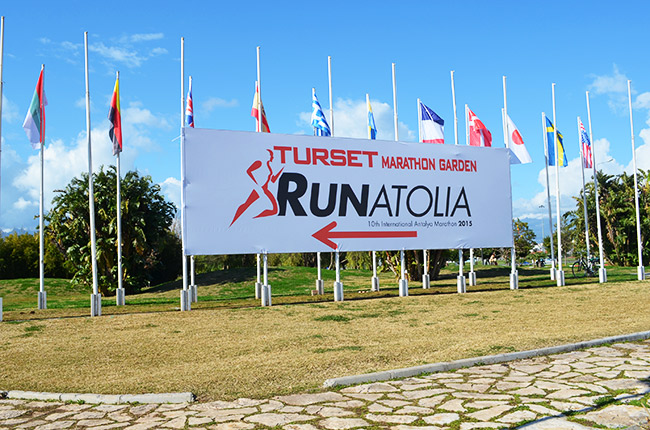 Runatolia Garden sign