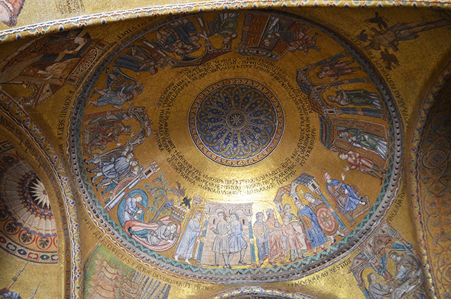 St. Mark's Basilica Ceiling