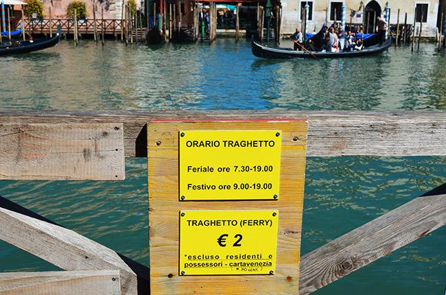 Gondola Ferry