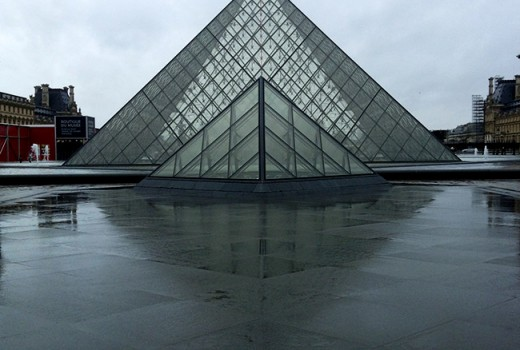 Louvre: Pyramid