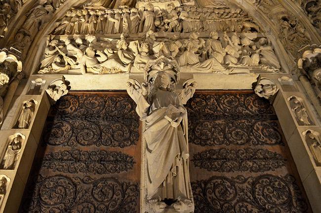 Notre Dame doors