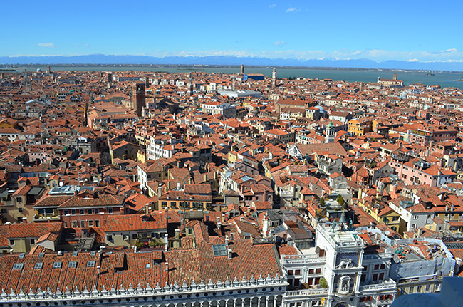 View from St Mark's Campanile