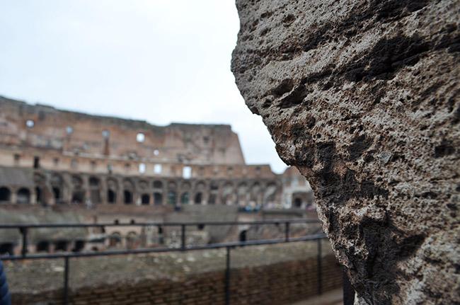 Colosseum rocks