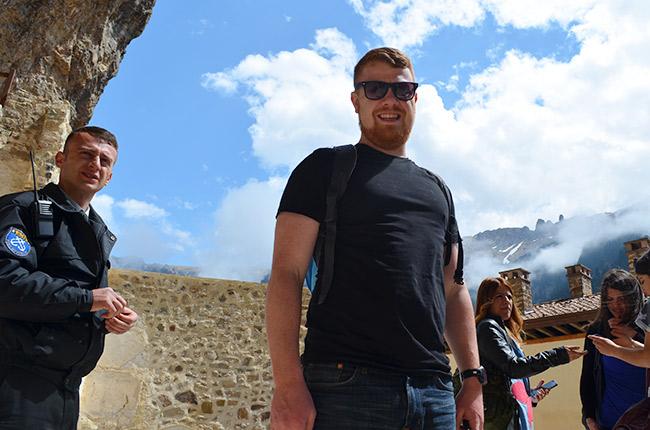 David in Sumela Monastery