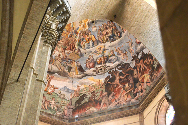Duomo cathedral frescos