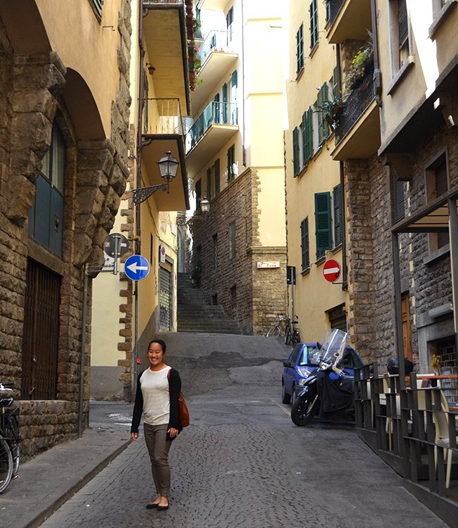 Leah in Florence