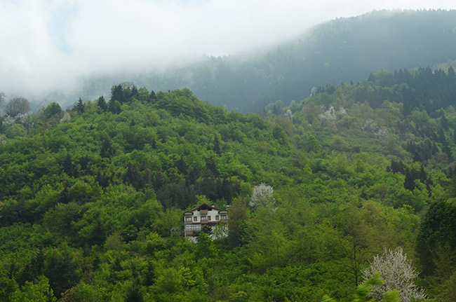 Rize mountain house