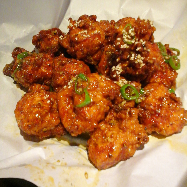 Friend Korean chicken