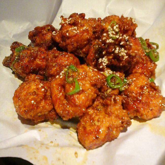 Friend Korean chicken