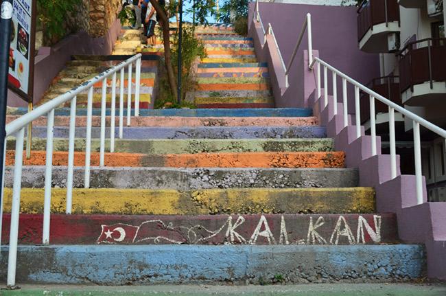 Kalkan steps