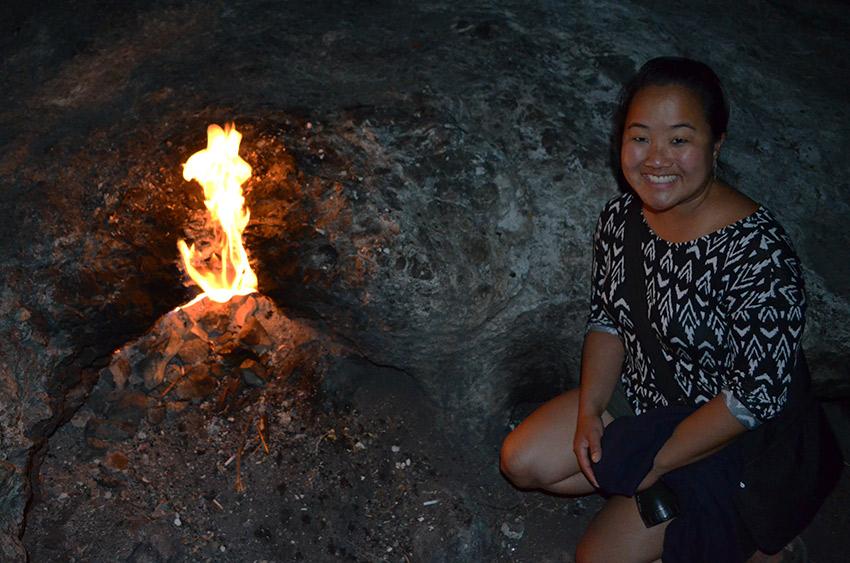 Leah at Chimaera Mountain