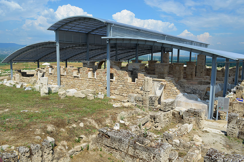 Laodicea church excavations