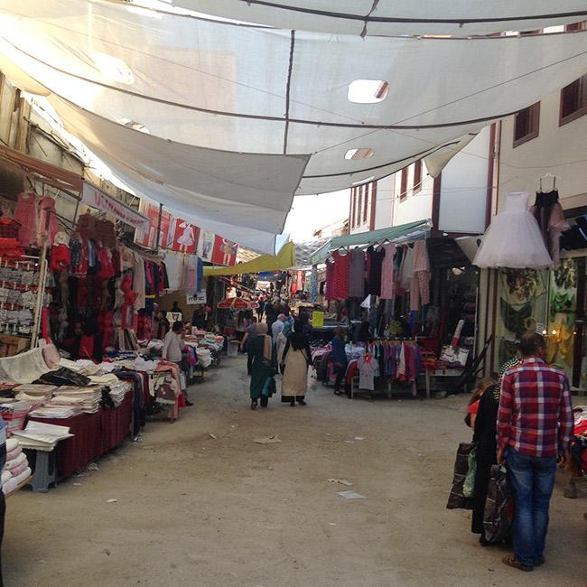 Ulus street markets