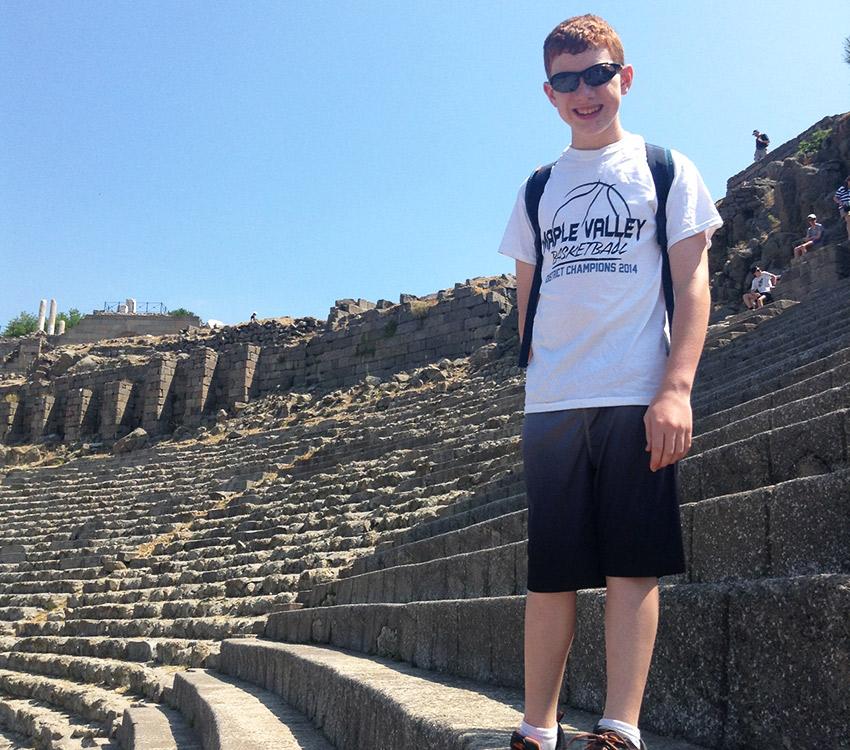 Ben in Pergamum