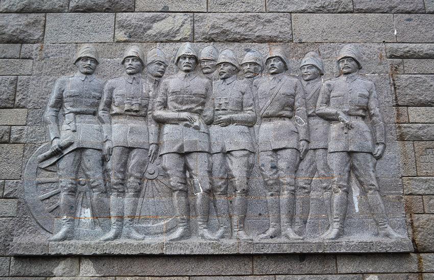 Çanakkale Martyrs' Memorial freize