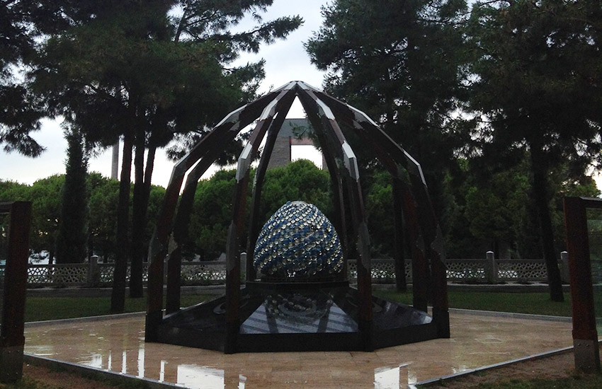 Çanakkale Martyrs' Memorial sculpture