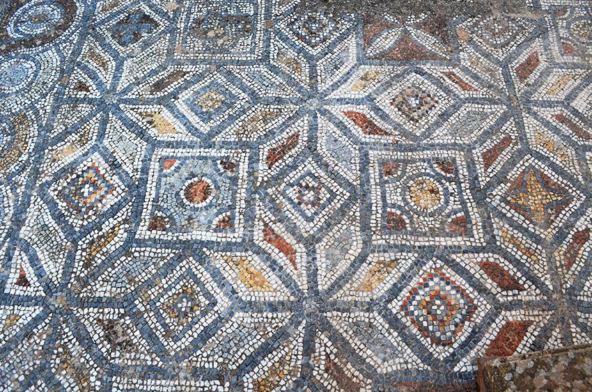 Ephesus Mosaic tiles