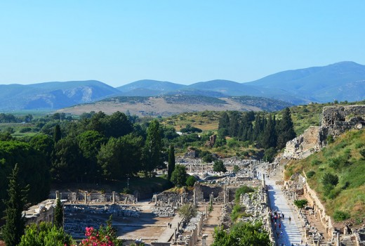 Ephesus mountains