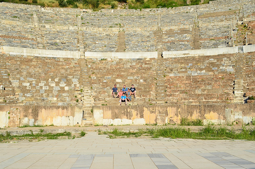 Theater of Ephesus - family photo