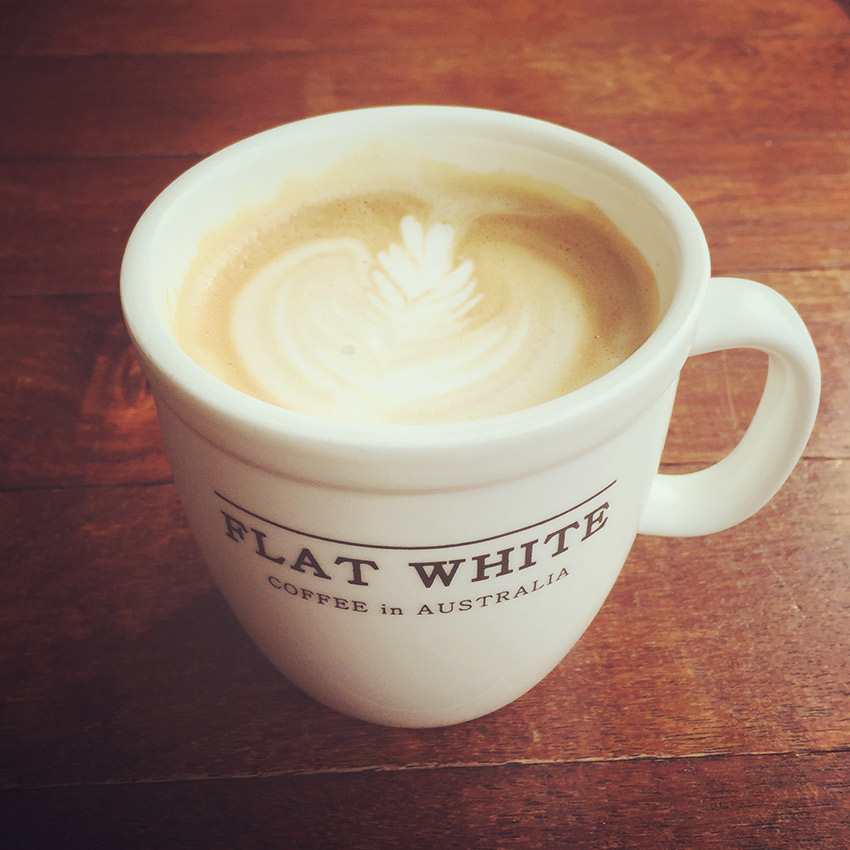 Flat White Sokcho cafe