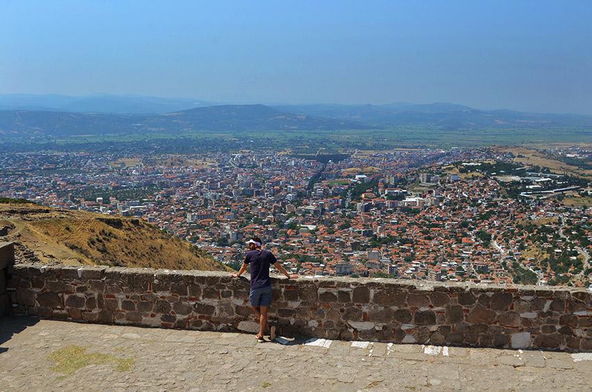 Man overlooking Bergama
