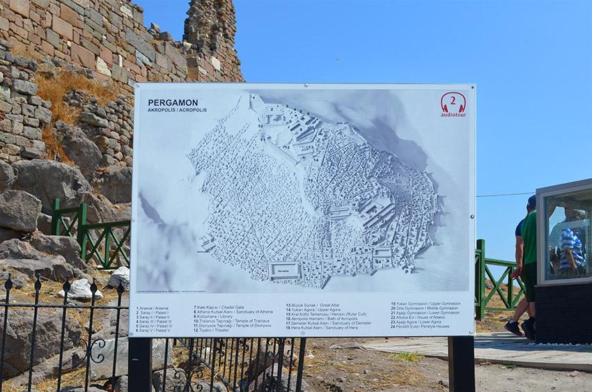 Pergamum map