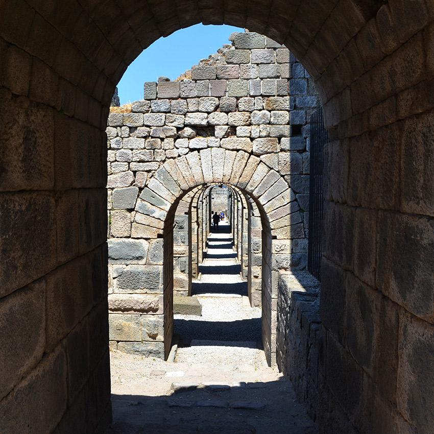 Ruins in Pergamum