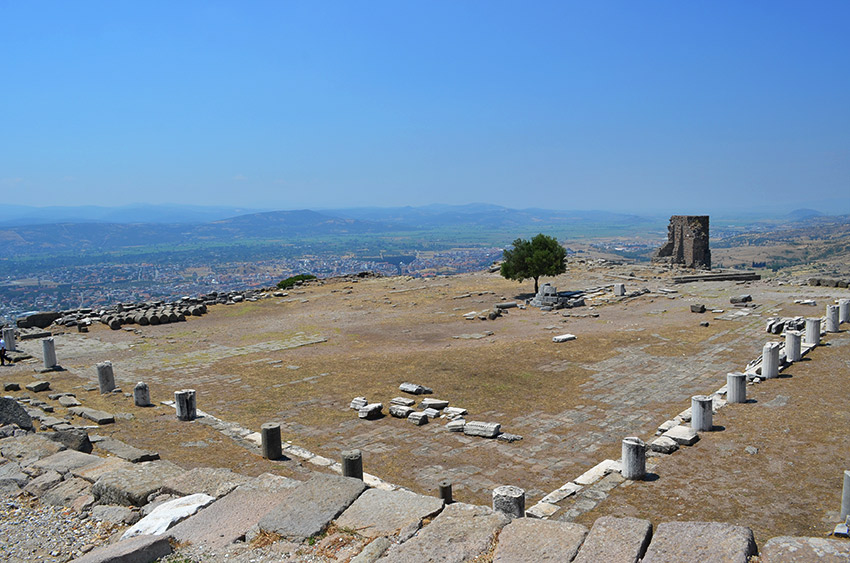 Pergamum temple foundation
