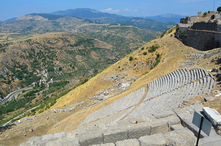 Pergamum theater steps
