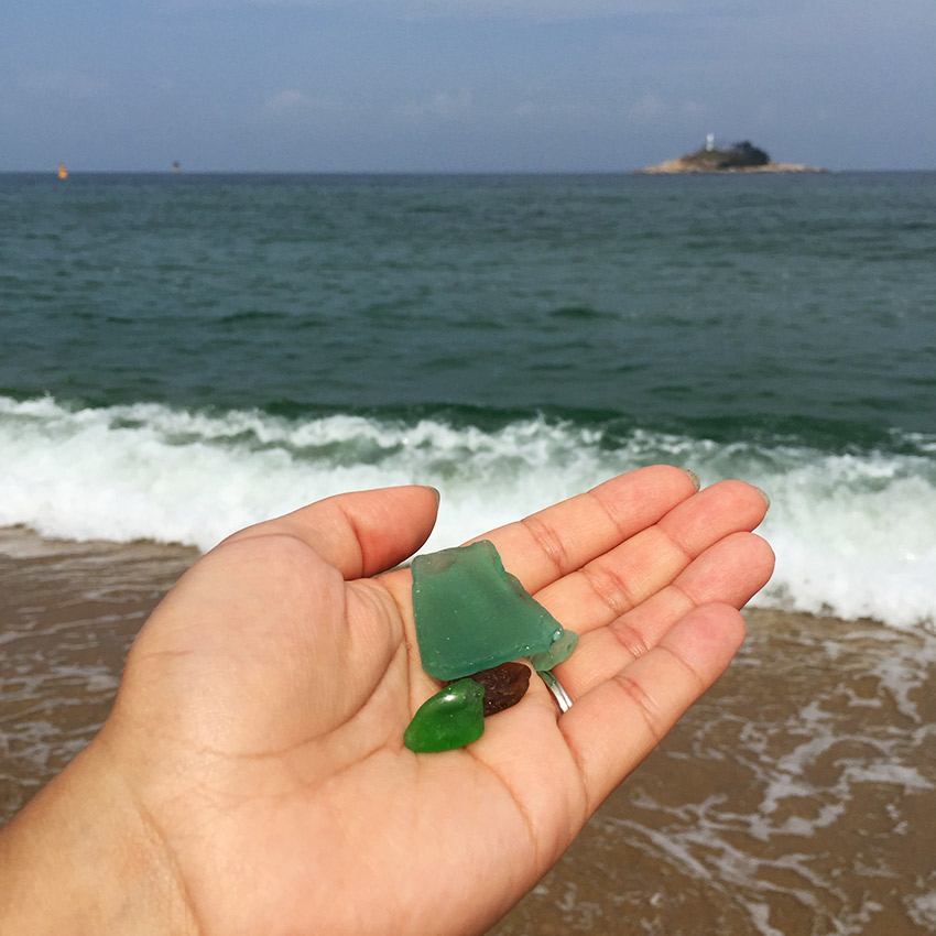 Sokcho sea glass