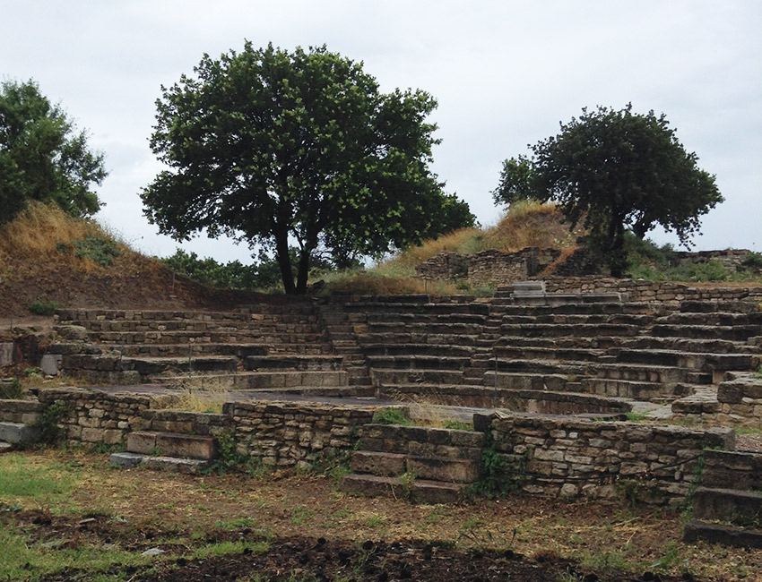 Ruins of Troy theater
