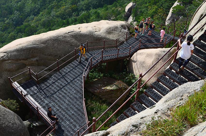 Ulsanbawi stairs