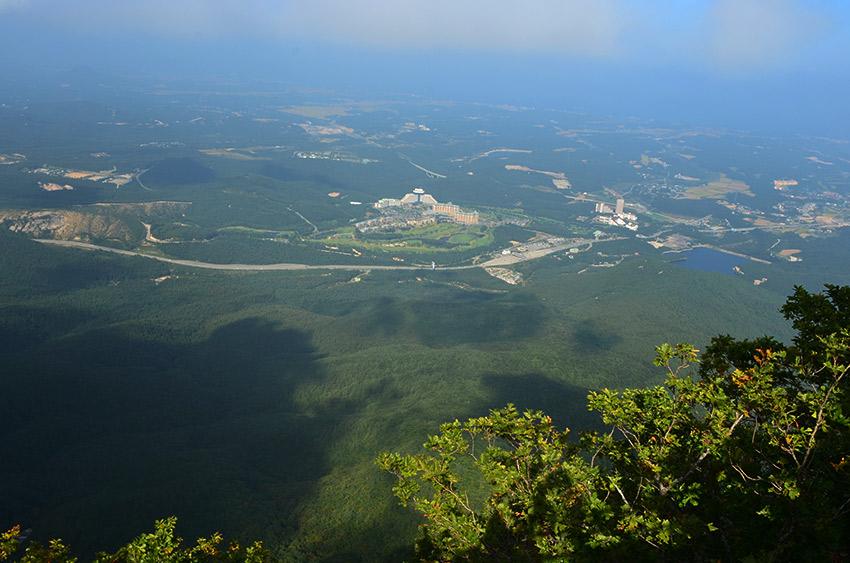 Ulsanbawi peak view