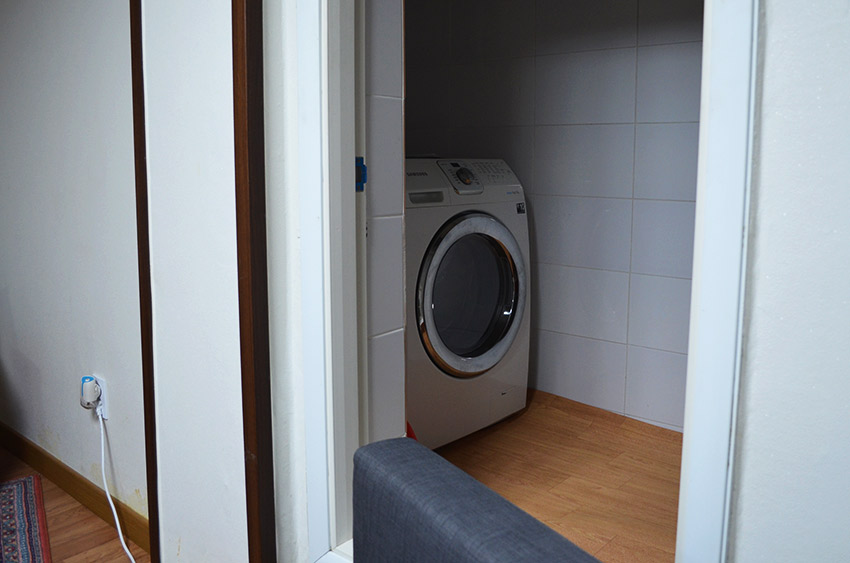 Washing machine area