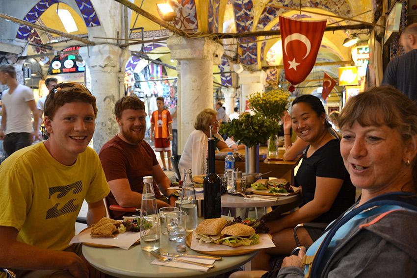 Grand Bazaar Fez Cafe