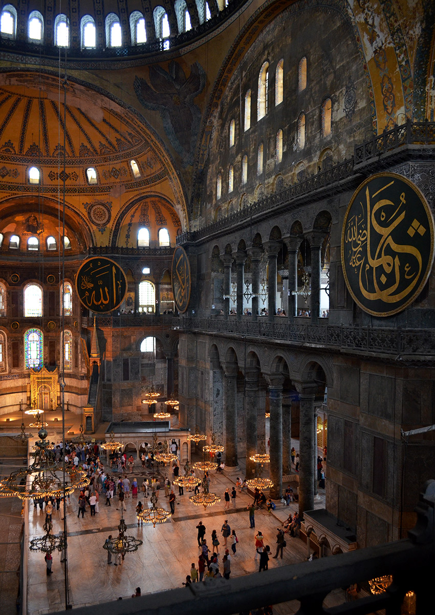 Hagia Sofia from second floor